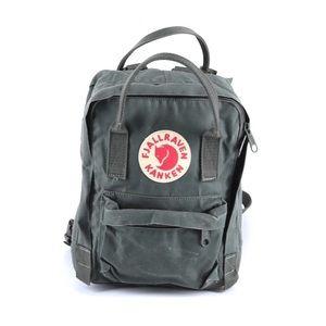 Fjallraven Kanken Mini Backpack in Dusk Dark Gree